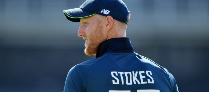 Ben Stokes of England looks on during the Royal London One Day International between England and Pakistan (Photo by Dan Mullan/Getty Images).