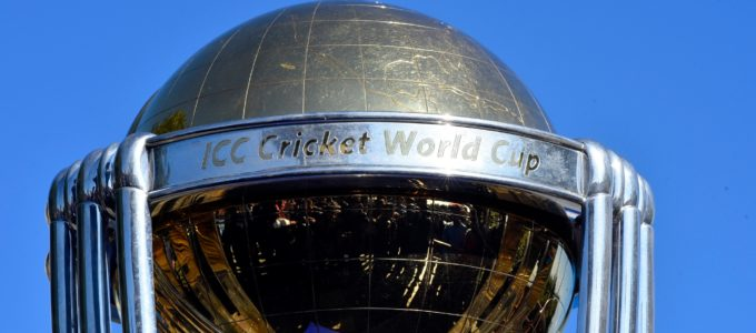 The 2019 ICC Cricket World Cup trophy. The 2019 Cricket World Cup is to be hosted by England and Wales from 30 May to 14 July 2019. (Photo by Narayan Maharjan/NurPhoto via Getty Images)