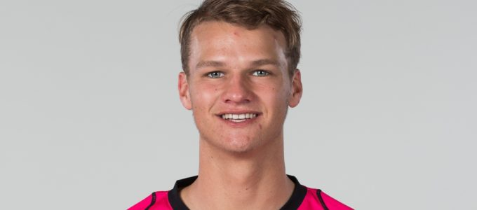 SYDNEY, AUSTRALIA - DECEMBER 13: Josh Philippe poses during the Sydney Sixers BBL Headshots Session at Cricket NSW on December 13, 2018 in Sydney, Australia (Photo by Matt King/Getty Images).