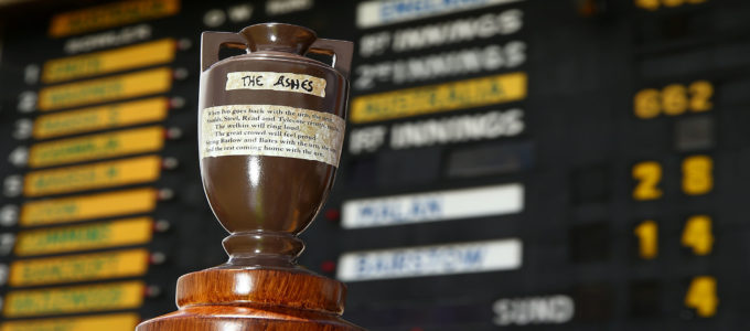 The Ashes Urn - England vs. Australia 2019 Series in England (August-September)(Photo by Paul Kane/Getty Images).