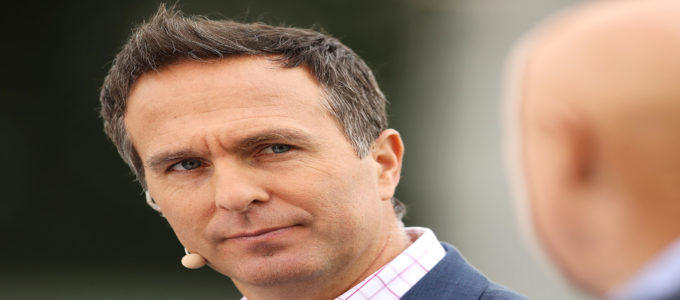 Michael Vaughan 1 February 2019 in Canberra, Australia (Photo by Mark Kolbe/Getty Images)