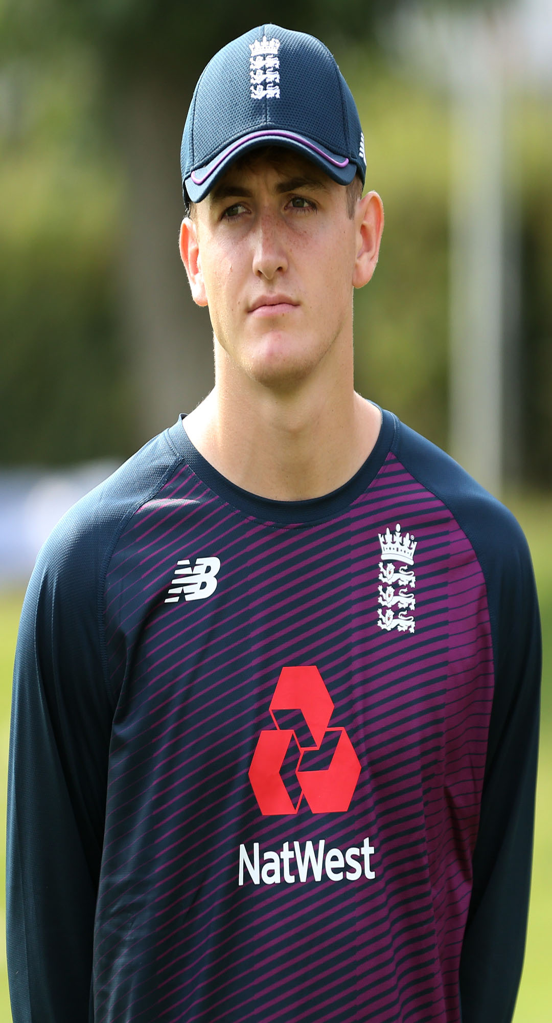 Phoenix Management Group's Nick Kimber during the England Under 19's Nets training session at National Cricket Performance Centre, Loughborough, England (Photo by Paul Harding/Getty Images).