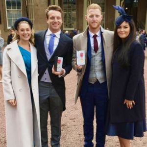 Ben Stokes and Jos Buttler receive their Royal Honours at Buckingham Palace.