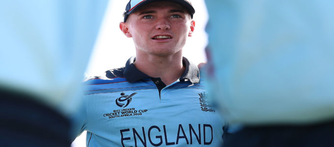 New Phoenix family member George Balderson leads England U19s to World CupPlate victory vs.Sri Lanka on 3 February (Photo by Matthew Lewis-ICC/ICC via Getty Images).