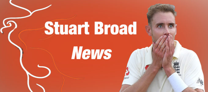 The latest news about Phoenix Management Group's Stuart Broad (PhoenixMedia Image Created from a Photo by Stuart Forster/Getty Images).