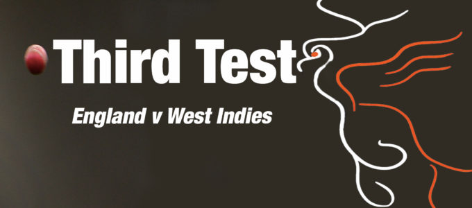 Third Test England vs. West Indies (PhoenixMedia Image Created from a Photo by William West/AFP via Getty Images).