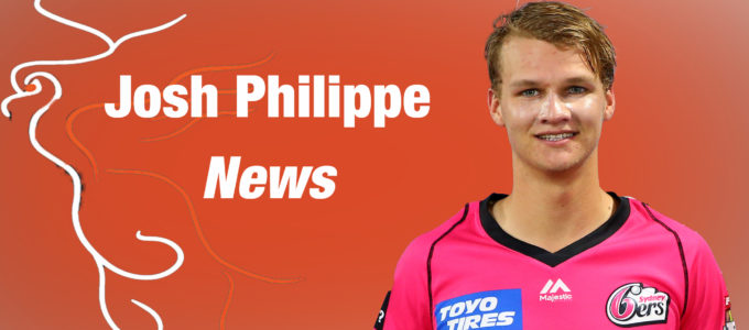 Josh Philippe News (PhoenixMedia Image Created from a Photo by Jason McCawley CA/Cricket Australia via Getty Images/Getty Images).
