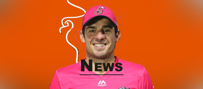Moises Henriques Latest PMG News (PhoenixMedia Image Created from a Photo by Jason McCawley - CA/Cricket Australia via Getty Images).