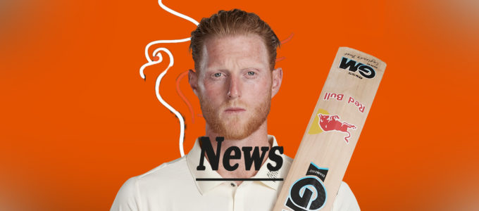 Ben Stokes PMG Latest News (PhoenixMedia Image Created from a Photo by Stu Forster/Getty Images).