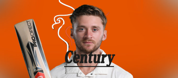 Joe Clarke Century (PhoenixMedia Image Created from a Photo by Laurence Griffiths/Getty Images).