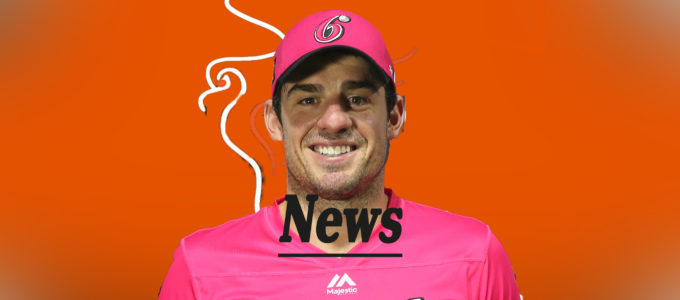 Moises Henriques PMG News (PhoenixMedia Image Created from a Photo by Jason McCawley - CA/Cricket Australia via Getty Images).