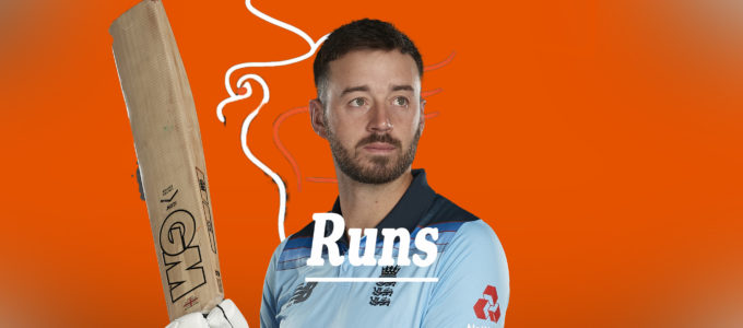 James Vince Runs (PhoenixMedia Image Created from a Photo by Stu Forster/Getty Images).
