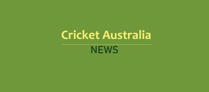 Cricket Australia News (PhoenixMedia Image)