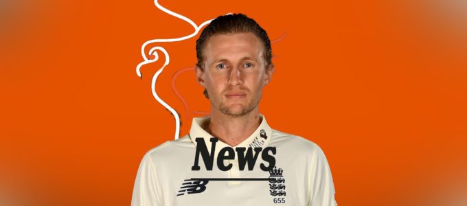 Joe Root PMG News (PhoenixMedia Image Created from a Photo by Gareth Copley/Getty Images).