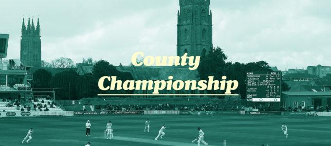 County Championship News