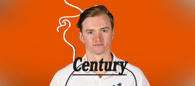 Ed Pollock Century (PhoenixMedia Created from a Photo by Gareth Copley/Getty Images)