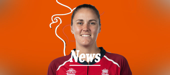 Nat Sciver News (PhoenixMedia Image Created from a Photo by Mark Metcalfe-ICC/ICC GettyImages).